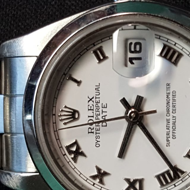 Rolex Ladies 79160 White Roman Dial Stainless Steel